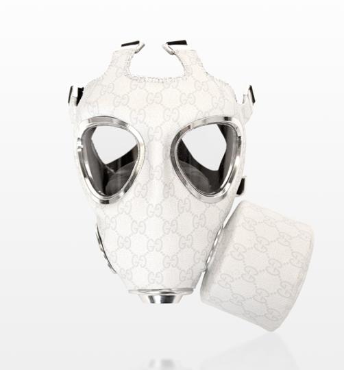 gucci gas mask art print