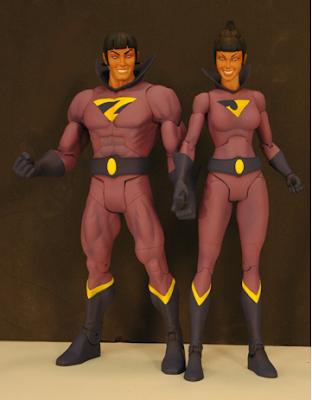 new Wonder Twins action figures