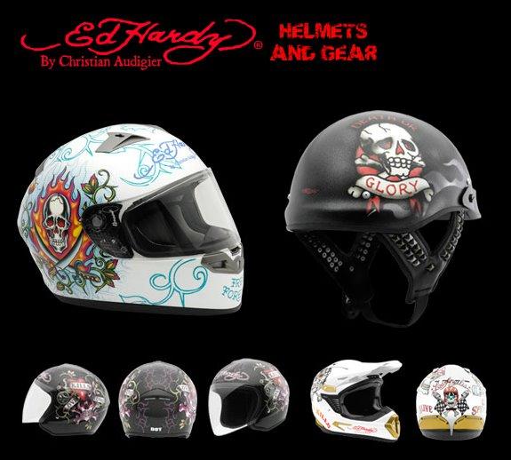 ed hardy helmets