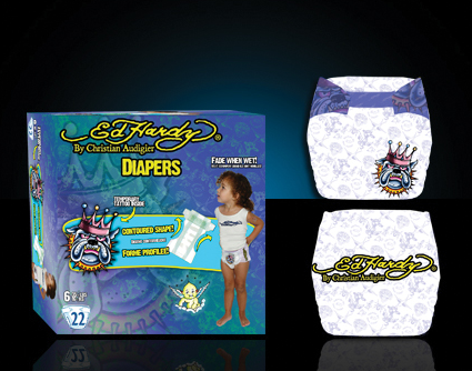 ed hardy diapers
