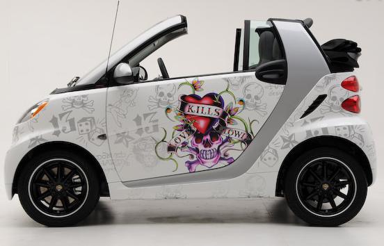 Ed Hardy Car