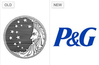P & G logos