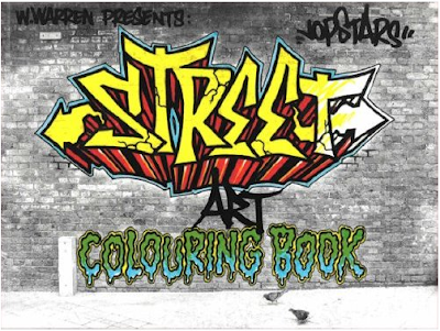 Graffiti Words Coloring Pages For Kids