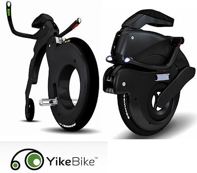 YikeBike Electric Folding Bike