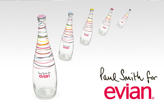 paul smith for evian bottles IIHIH