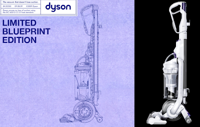 Dyson Blueprint Edition Vacuums