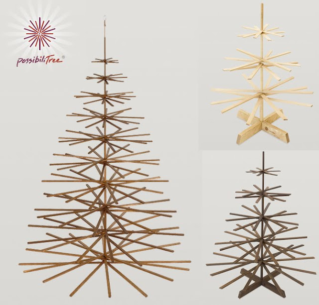 possibilitree wooden trees are made in minnesota produced as a family business venture our mission is to provide you with a beautiful and unusual art - Wood Christmas Tree
