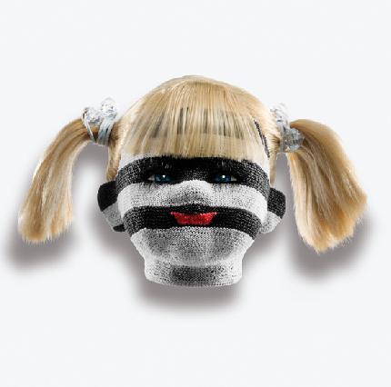 Modern Chaquira Doll Heads