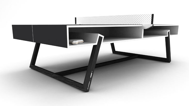 The Puma Chalk Ping Pong Table By Aruliden