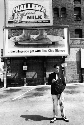 Larry Bell, 1964, photo by Dennis Hopper