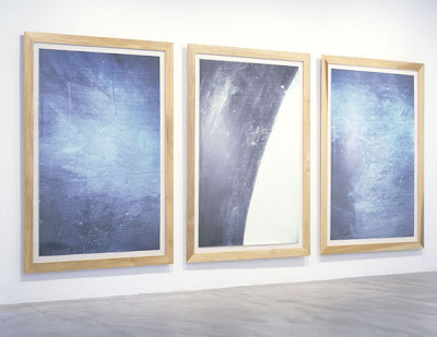 Dennis Hopper, Space Triptych (at the Ace Gallery), 1996