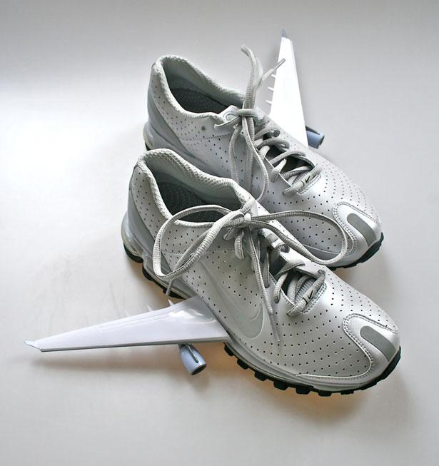 Justus Oehler's Winged Nikes