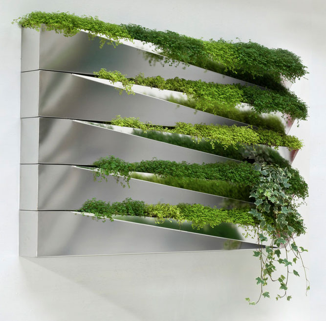 Grass Mirror Window Box by Jean-Jacques Hubert on if it's hip, it's here
