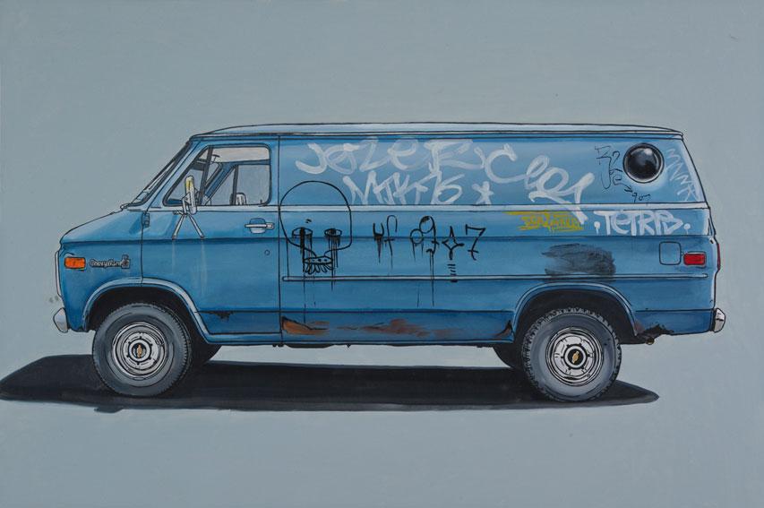 paintings of vans
