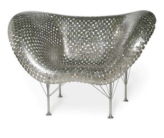 half dollar butterfly chair