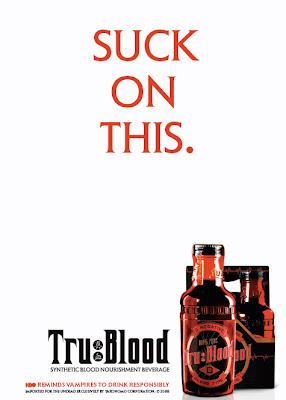 Ads for HBO's Tru Blood Carbonated Beverage