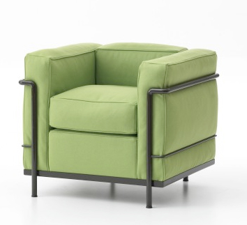 le corbusier classics lc2 lc3 and lc4 get colorful. Black Bedroom Furniture Sets. Home Design Ideas