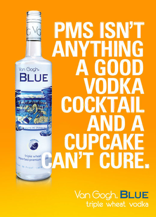 Van Gogh Blue Vodka Marketing
