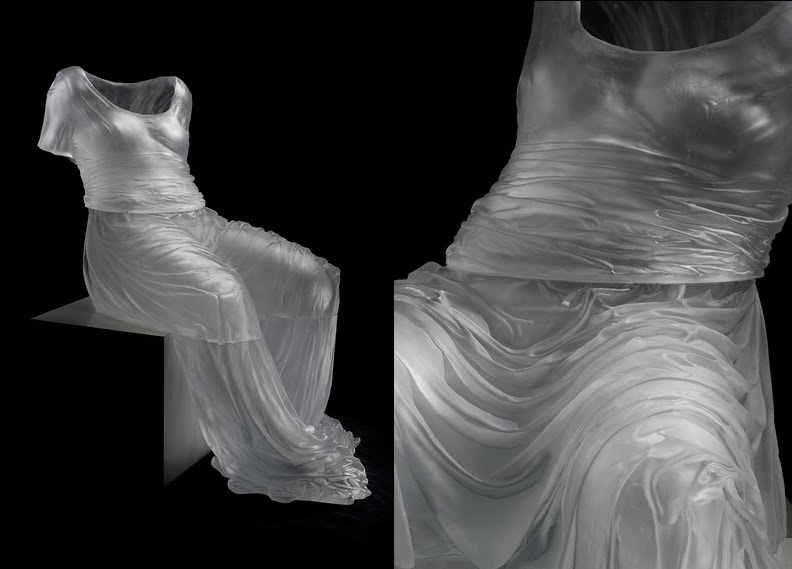 blown glass dresses