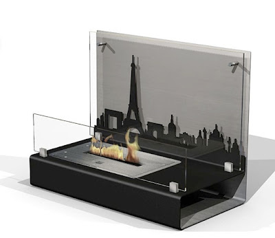 Paris II fireplace