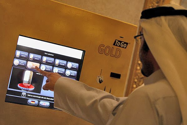 Candy Bar Or Gold Two Companies Offer Solid Via Vending Machines
