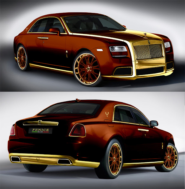 Diva Gold Plated Rolls Royce Ghost