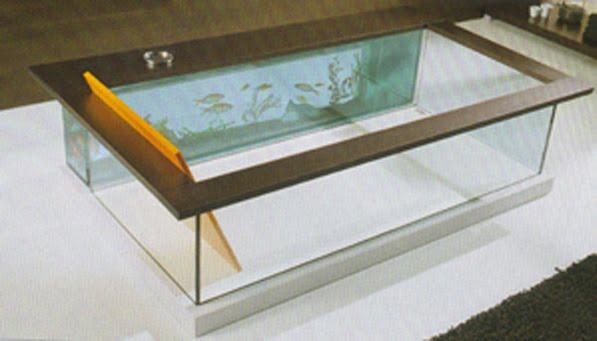 Even Moody Acquario glass tub (with aquarium)