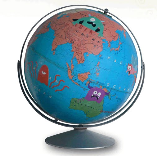 If It's Hip, It's Here (Archives): Vintage Globes Get Fun ...