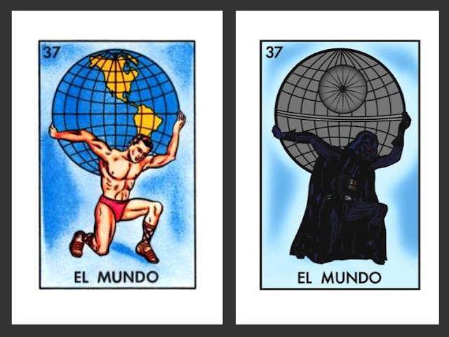 photo regarding Free Printable Loteria Cards identify Room Loteria (Star Wars Mexican Bingo) By means of Chepo Pena Is At present