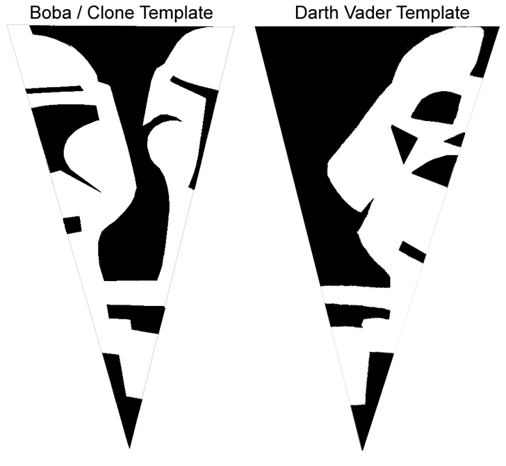 Star Wars Snowflakes and Templates To Make Your Own - if it\'s hip ...