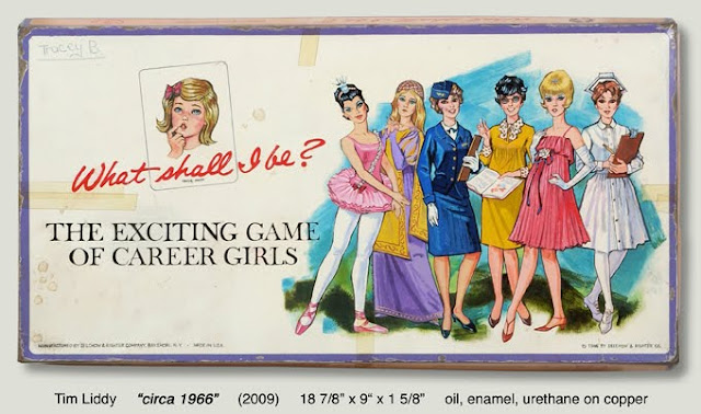career girls board game painting