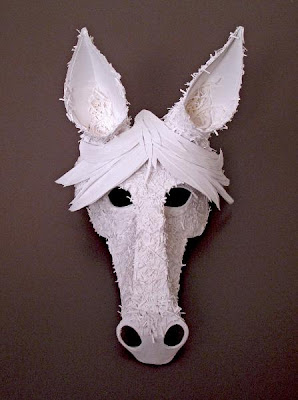 Beautiful Cut Paper Animal Masks By Flurry Amp Salk If It