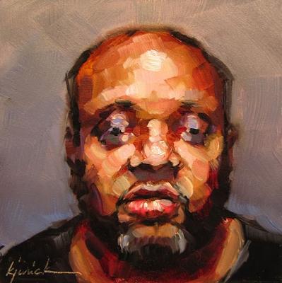 karin Jurick, BUST-ED 100 Mug Shot Paintings