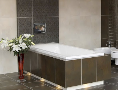 Horizontally Mounted Kitchen Hardware Expresso Cabinets