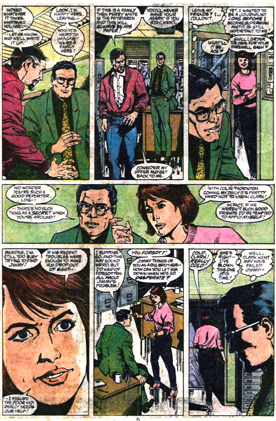 Read online Adventures of Superman (1987) comic -  Issue #461 - 6