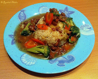 Black Pepper Broccoli Beef