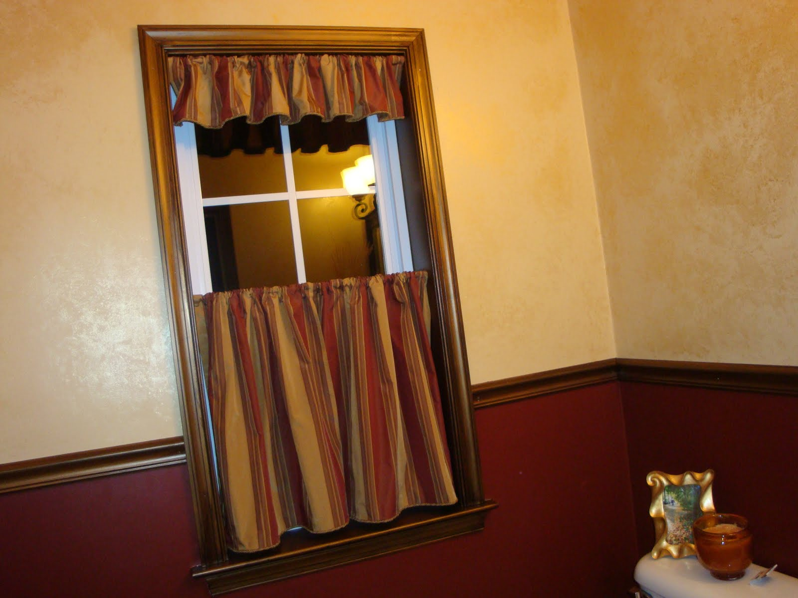 The Penny Parlor Mighty Mendit Window Treatment