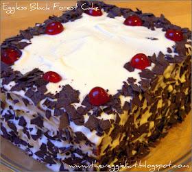 The Veggie Hut 1st Blog Anniversary With Black Forest Cake