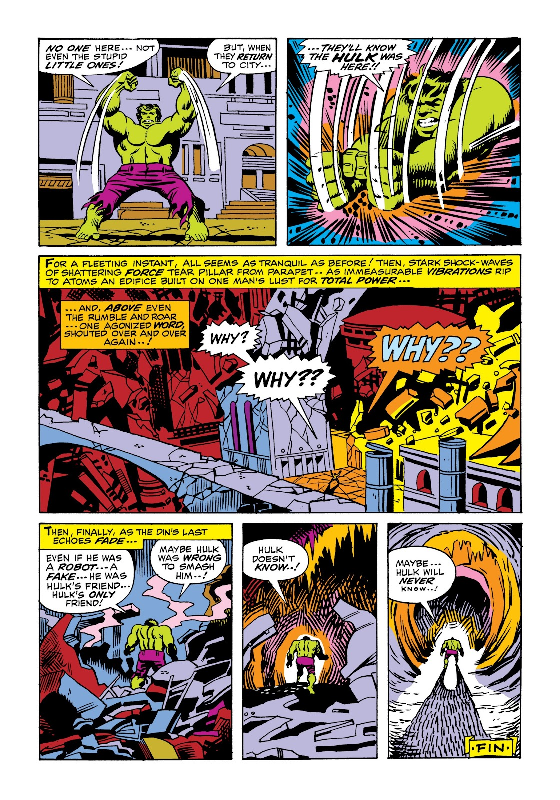 Read online Marvel Masterworks: The Incredible Hulk comic -  Issue # TPB 6 (Part 2) - 33
