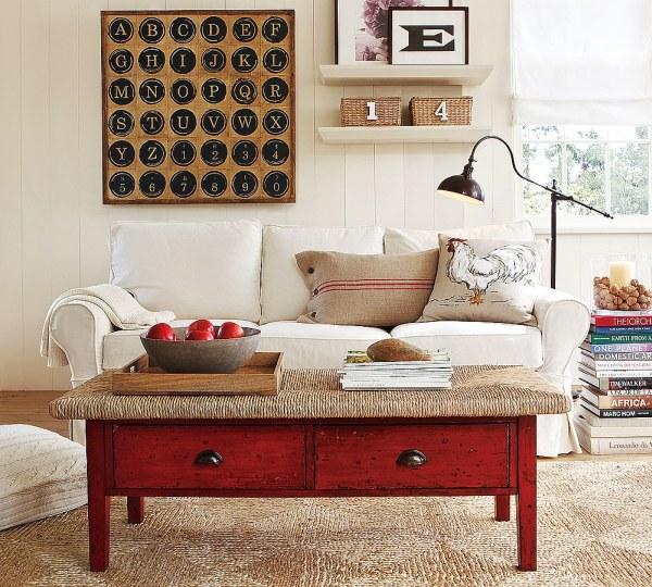 Warm Living Room Ideas: Brighton Beach: Contemporary Warm Living Room Interior