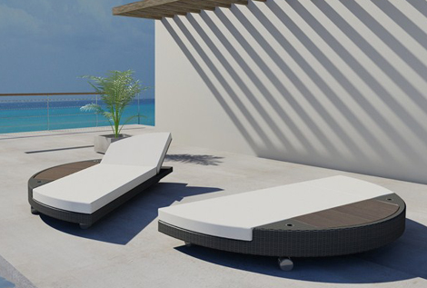 Lounge Chair Outdoor Bedroom Wanted Brighton Beach: Modern Island Sunbed 2011 – Lounger By Freeline