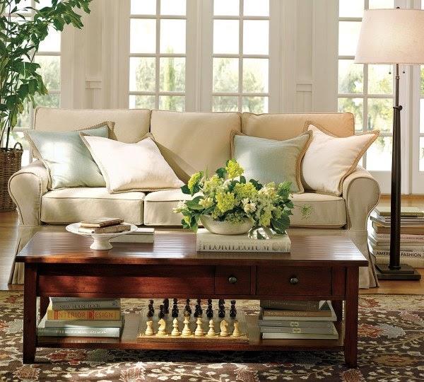 Warm Living Room Ideas: Home Furniture