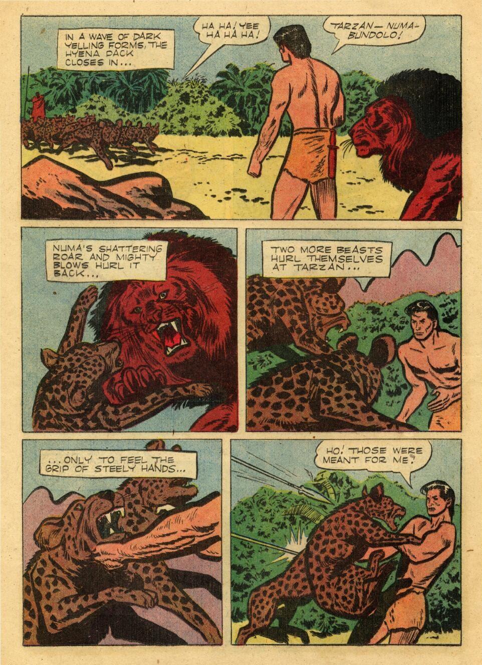 Tarzan (1948) issue 72 - Page 16