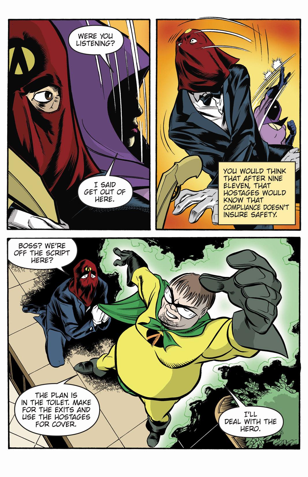 Read online SideChicks comic -  Issue #1 - 13