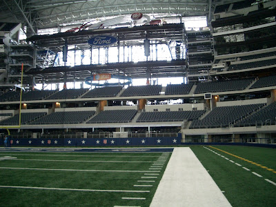 Where S Chuck Dallas Cowboys Stadium Tour