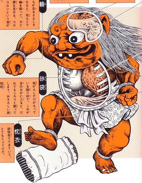 Ethan Clements Japanese Folklore Monsters Creatures