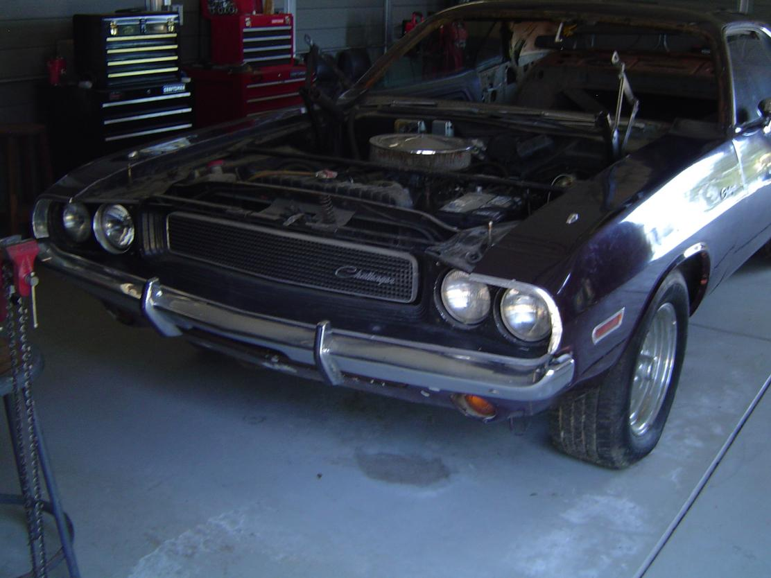 garage of Dome: 1970 Dodge Challenger Project Car For Sale