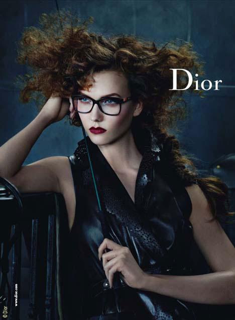Lunettes Dior Hiver 2010 2011 Campagne - MaxiTendance 5526ae2c4d76
