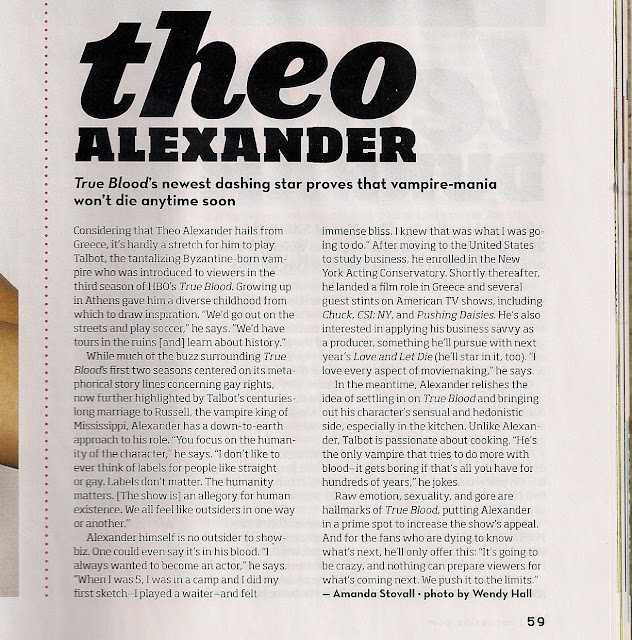 Amanda Stovall: Theo Alexander Interview In Venus Print Issue