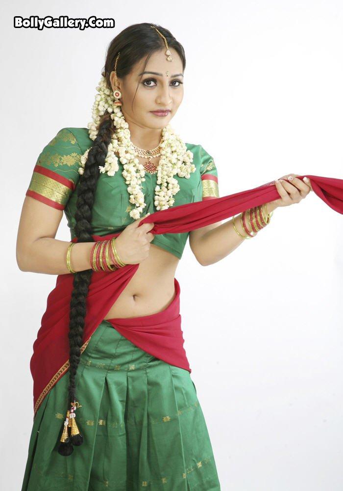 Siva Blog Half Saree South Indian-2770